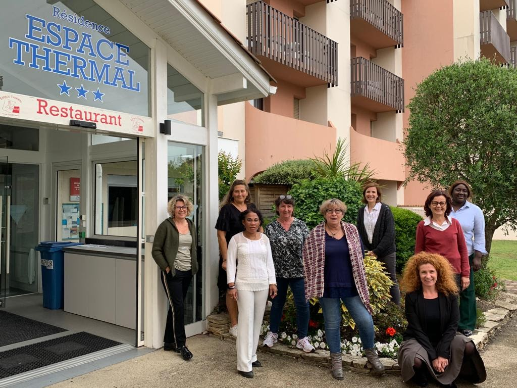 """The """"Espace Thermal"""" team"""